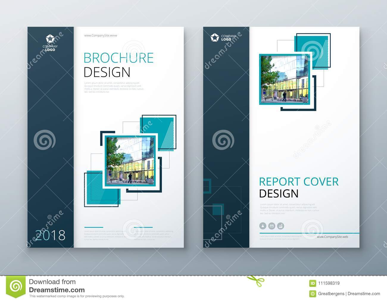Brochure Template Layout Design Corporate Business Annual Report Catalog Magazine Flyer