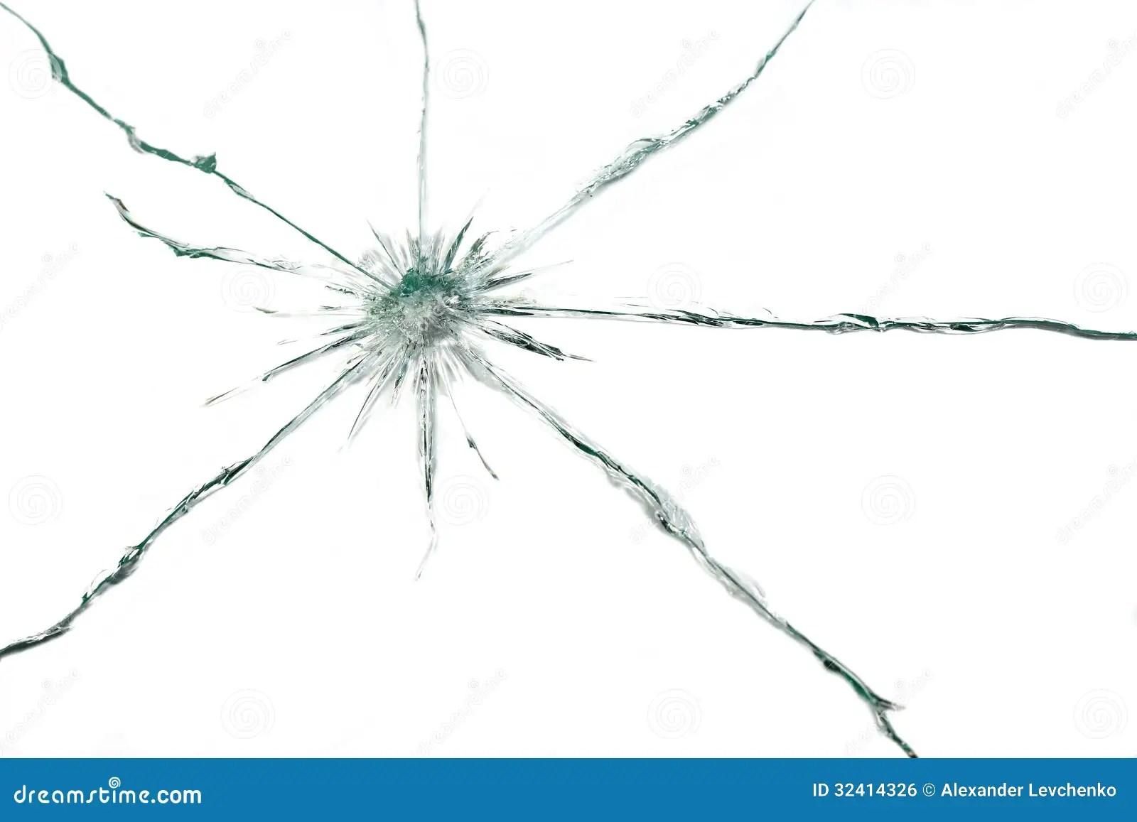 Broken Glass Royalty Free Stock Image