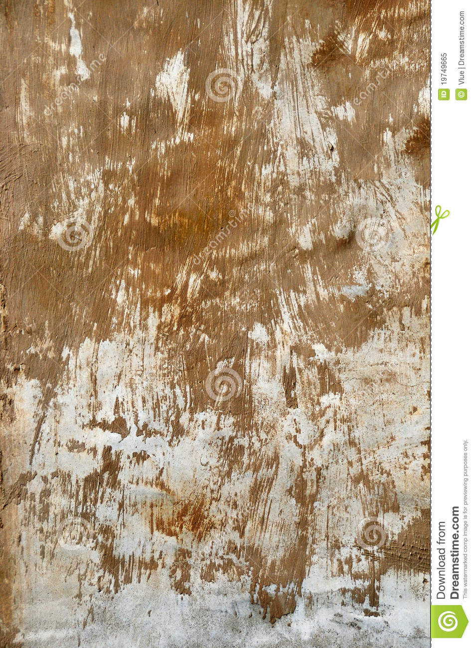 Brown Paint Smear Royalty Free Stock Photo Image 19749665