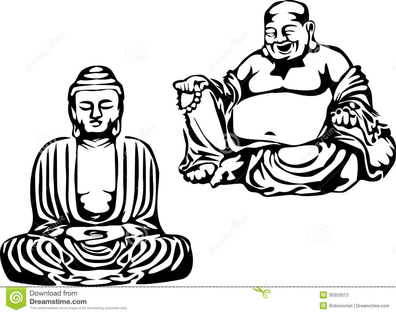 Buddha Stock Vector Illustration Of Traditional Belief
