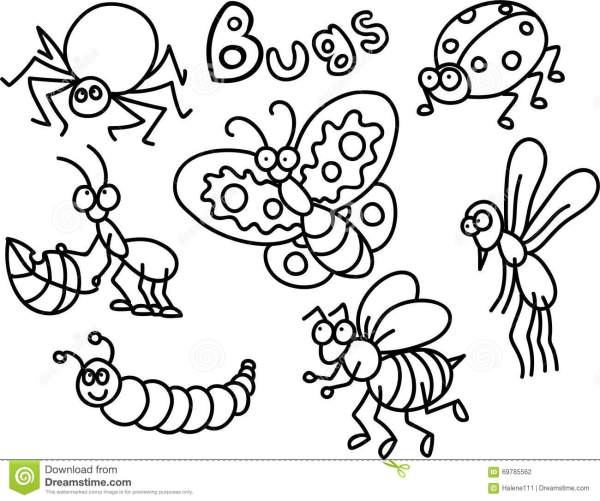 bug coloring page # 5