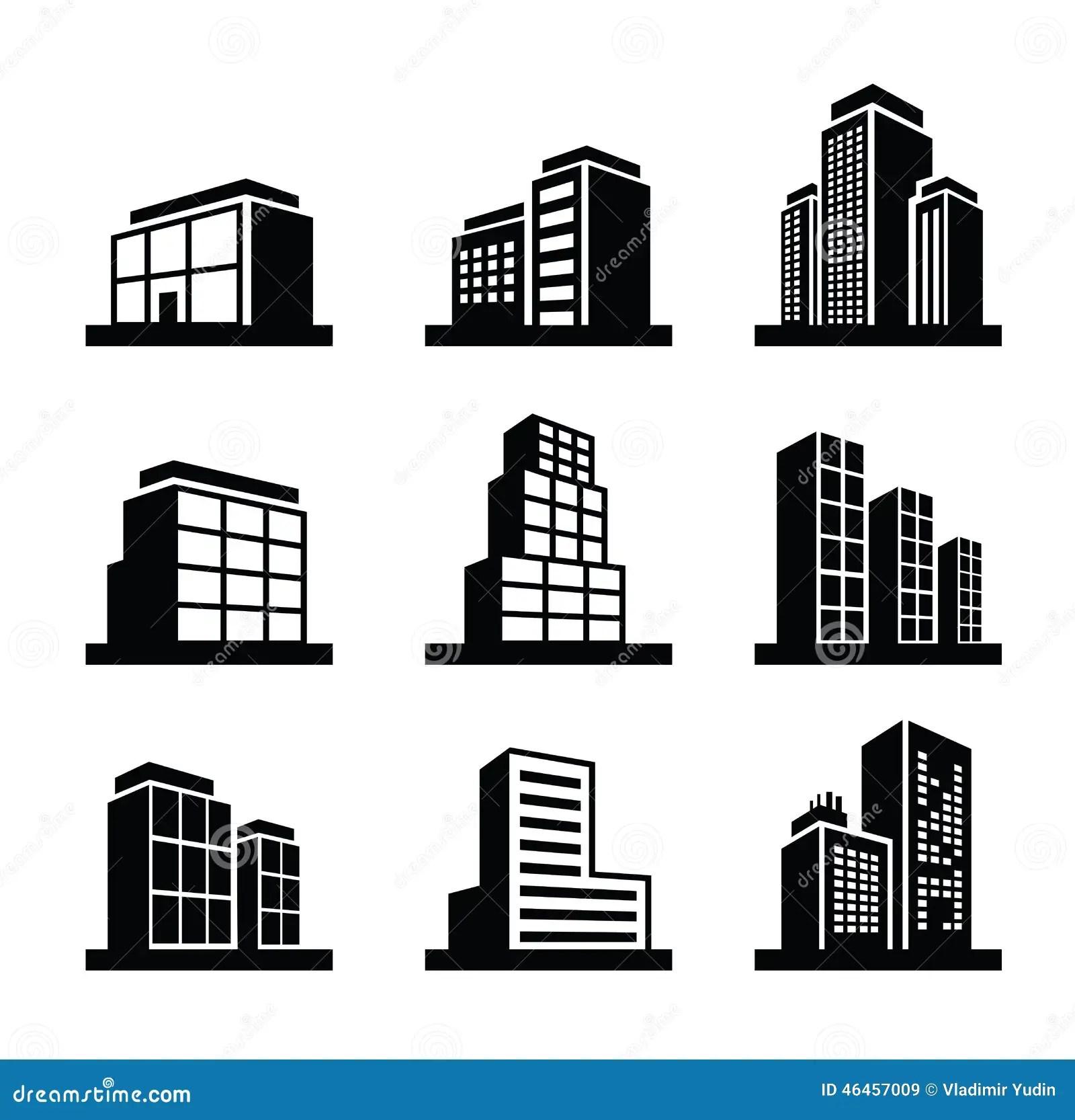 Building Icon Stock Vector Illustration Of Cityscape