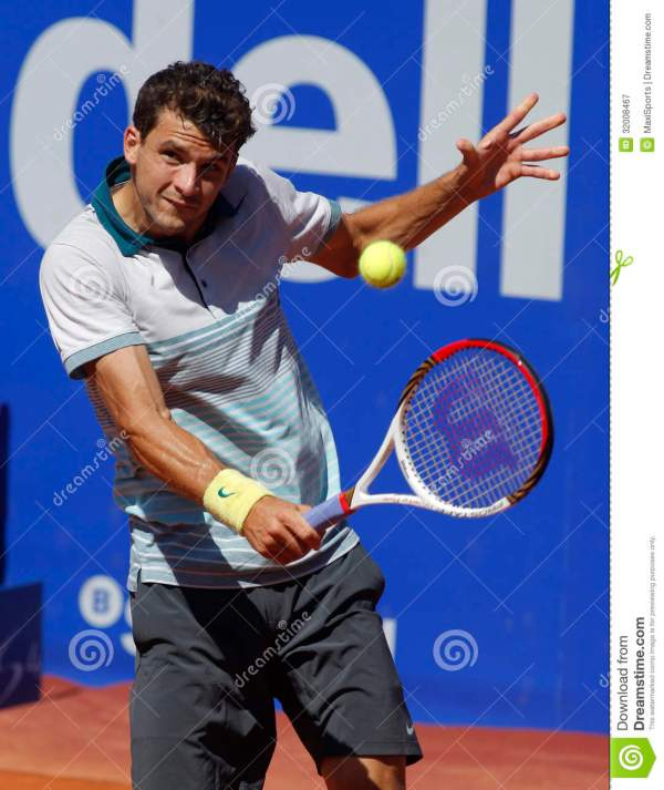 Bulgarian Tennis Player Grigor Dimitrov Editorial ...