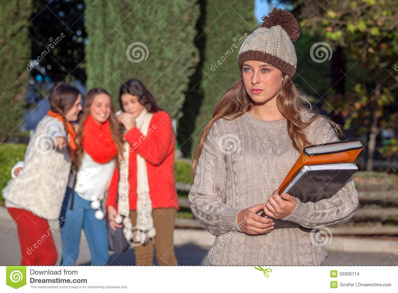Bully Teenagers Stock Photo Image Of Child Bully