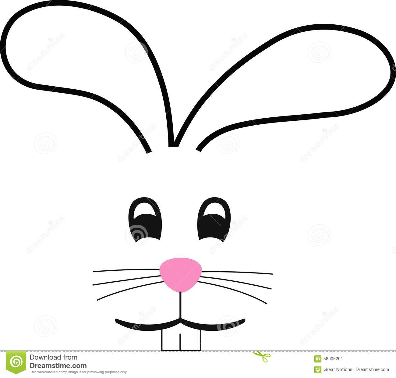 Stock Image Bunny Face Image