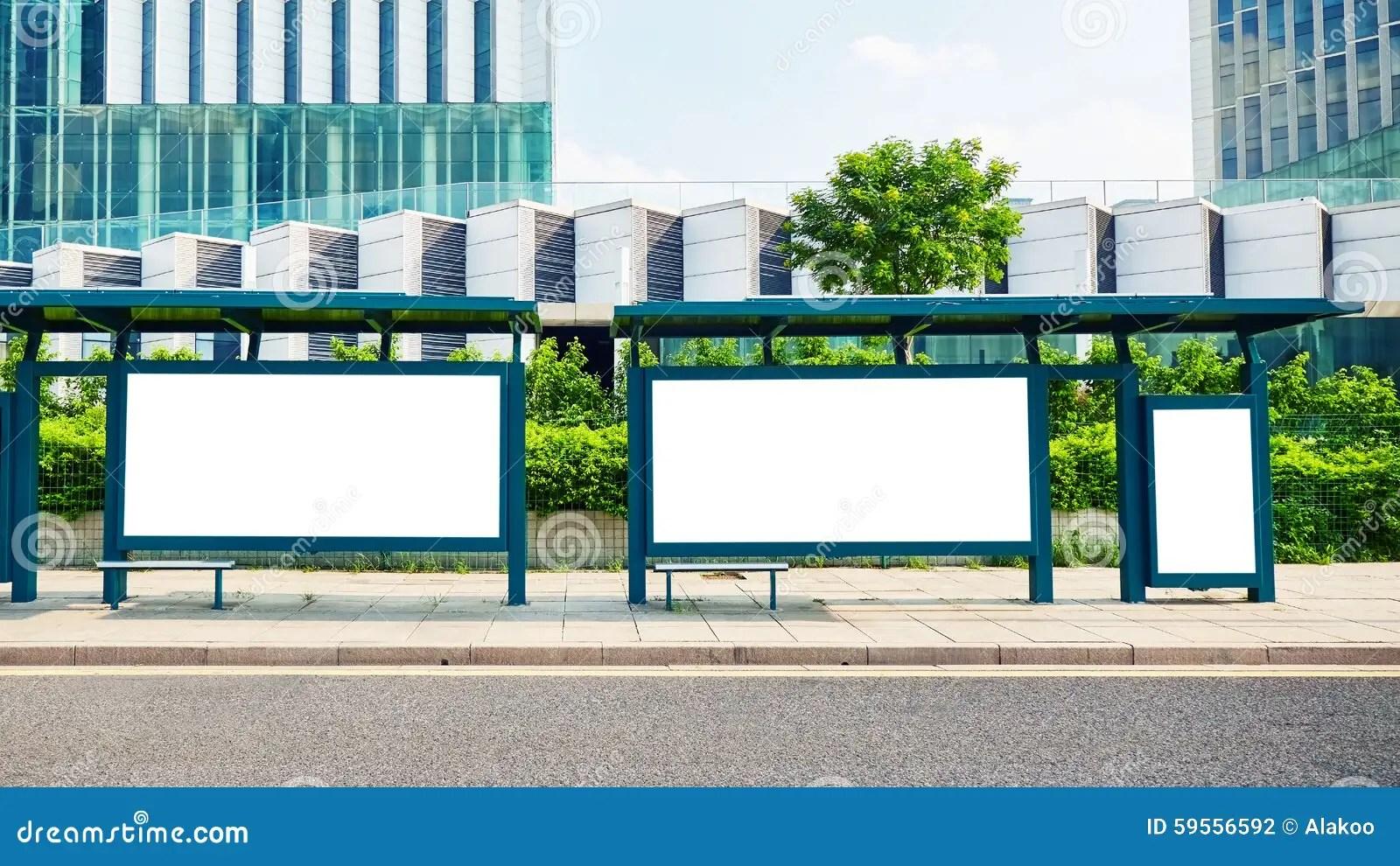 Blank Billboard Advertising