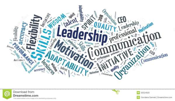 Business skills word cloud stock photo. Image of ...