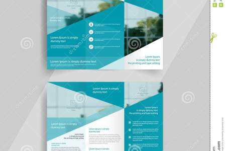 Business Tri fold Brochure Layout Design Emplate Stock Vector     Business tri fold brochure layout design  vector a4 brochure template