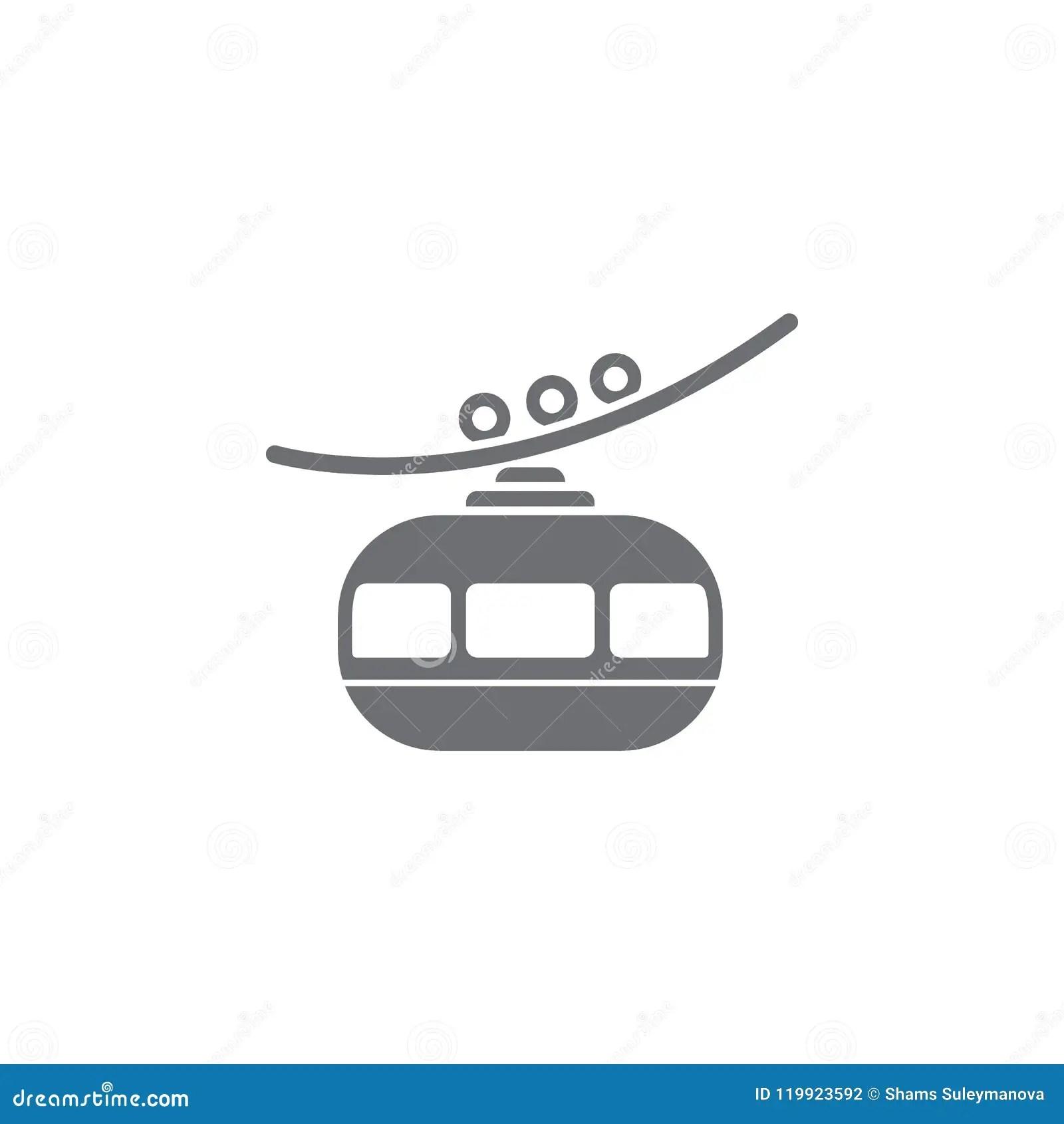 Electric Car Flat Icon Set Vector Illustration