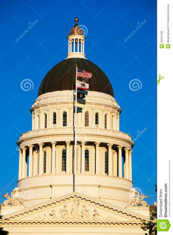California State Capitol Building Royalty Free Stock Image