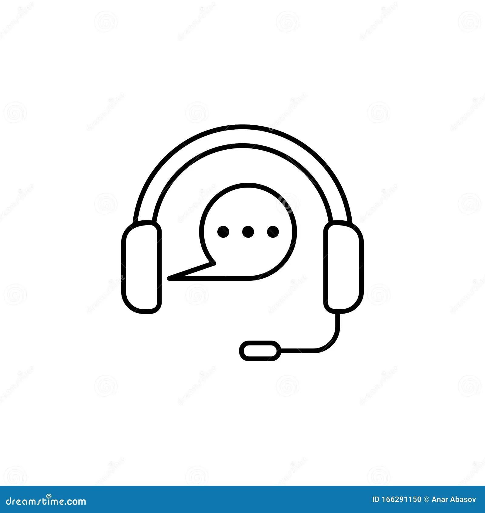 Call Center Communication Icon