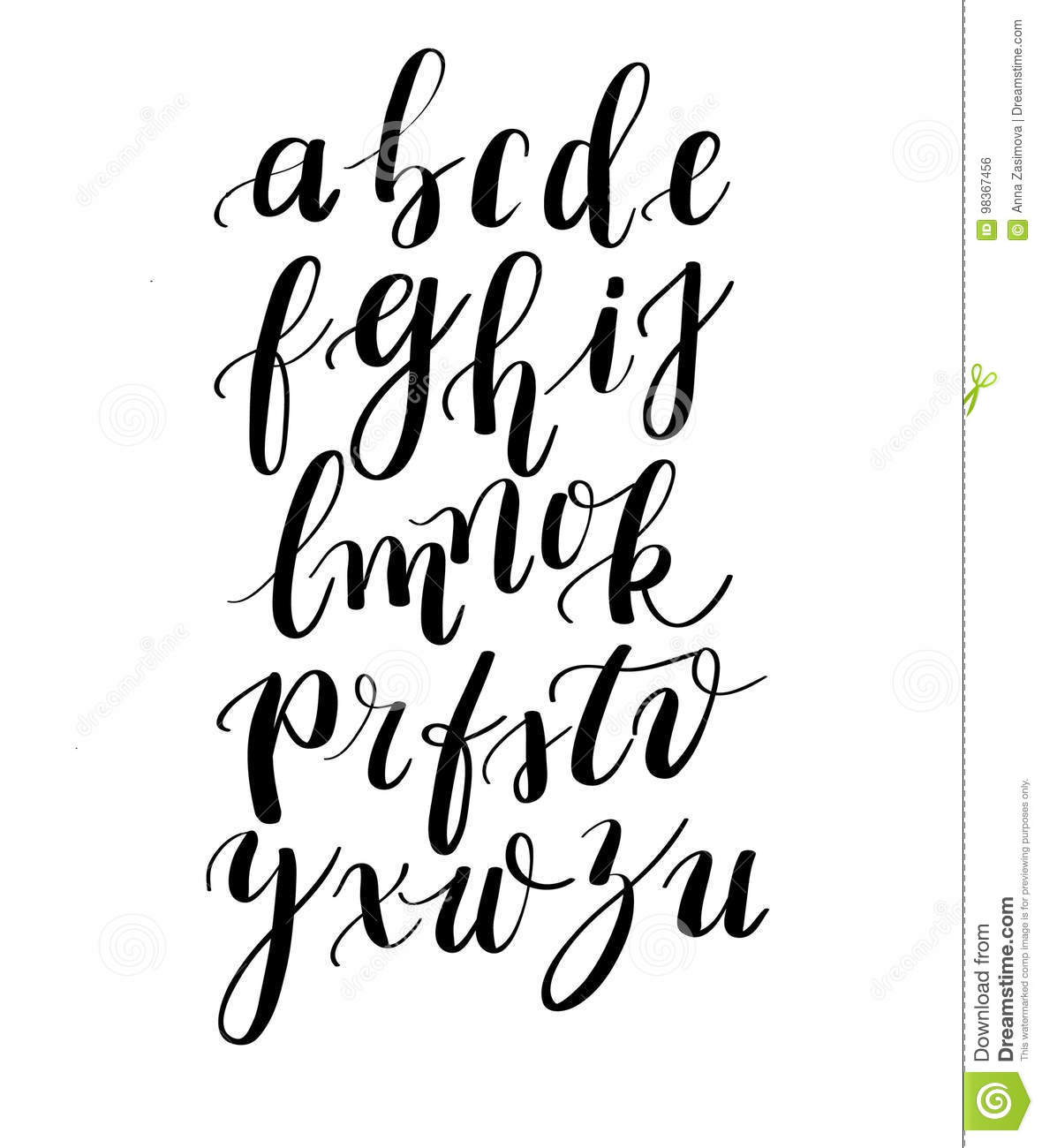 Calligraphy Hand Written Fonts Handwritten Brush Style
