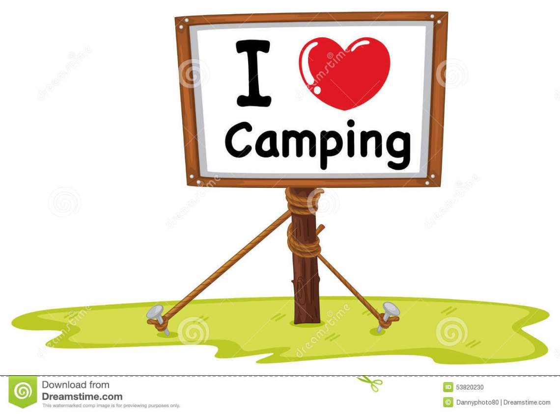 Download Camping Stock Vector - Image: 53820230