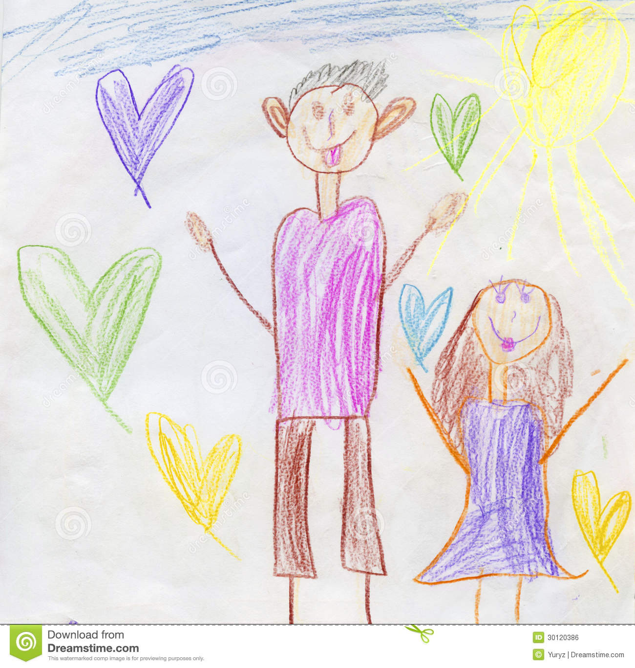 Happy Father S Day Royalty Free Stock Image