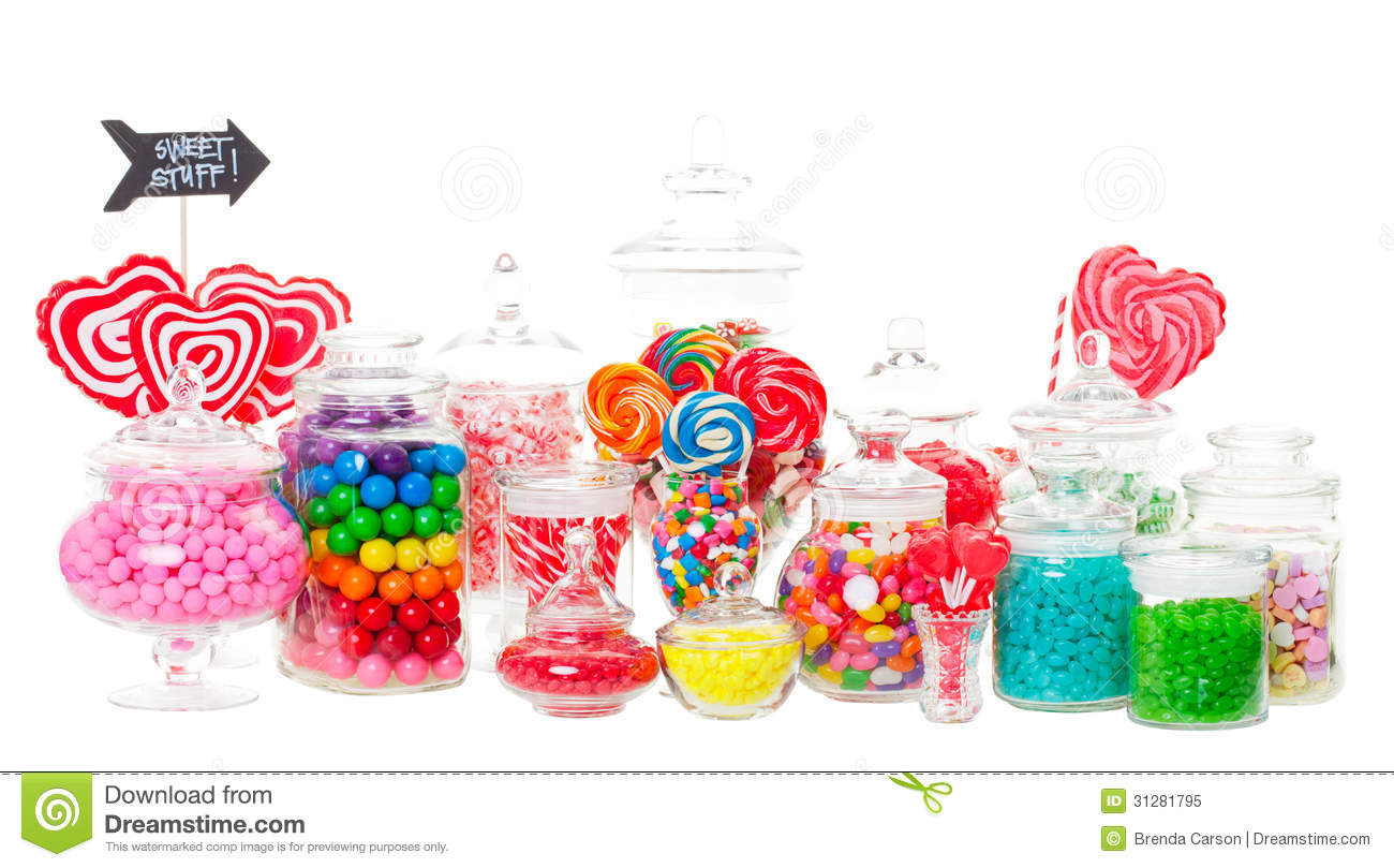 Candy Buffet Stock Image Image Of Lollipop Licorice