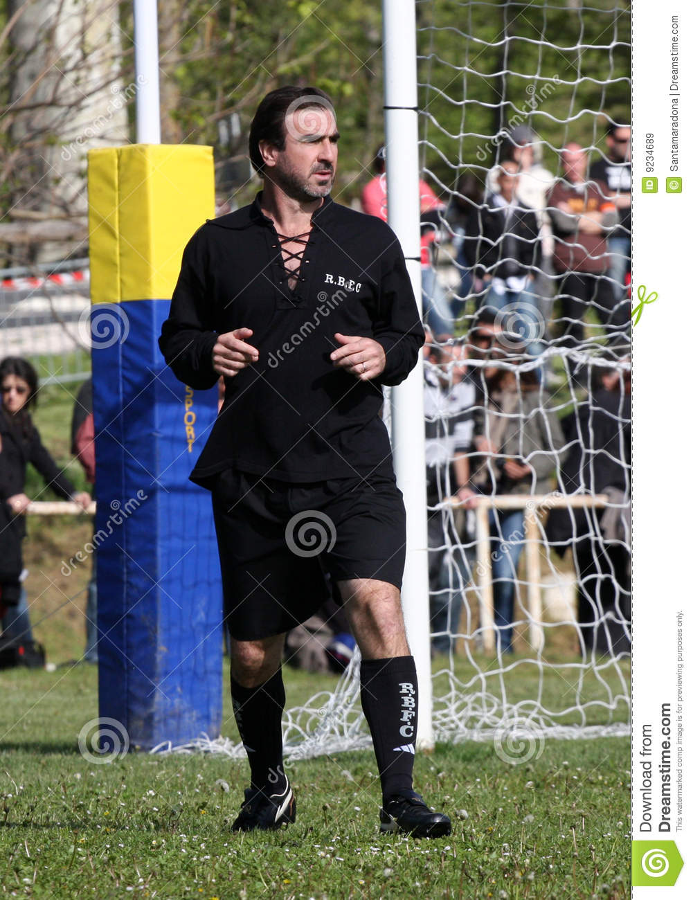 At international level, he played for the french. Cantona V Lievremont Editorial Stock Image Image Of Arlettaz 9234689