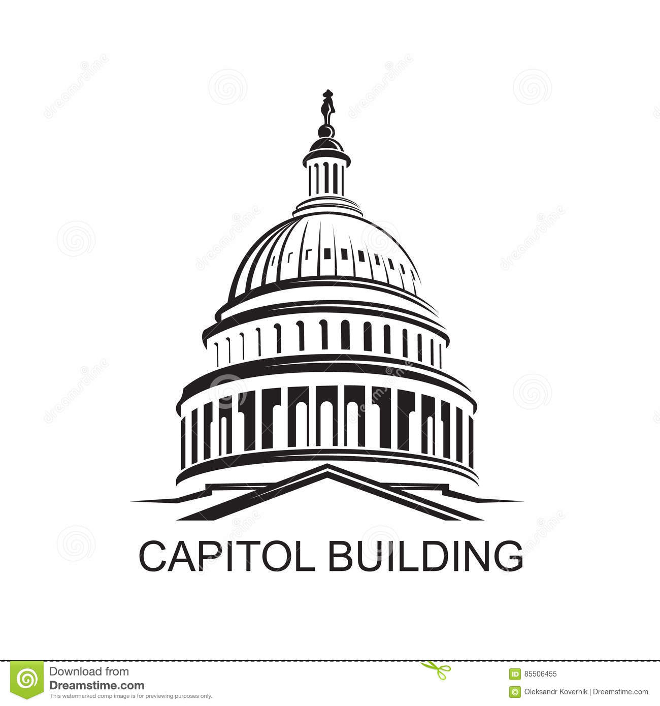 Capitol Stock Illustrations 3 352 Capitol Stock
