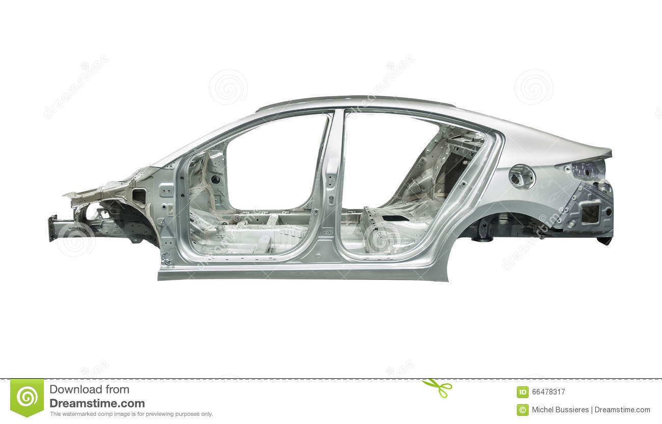 Car Body Frame Stock Image Image Of Fast Industry Body