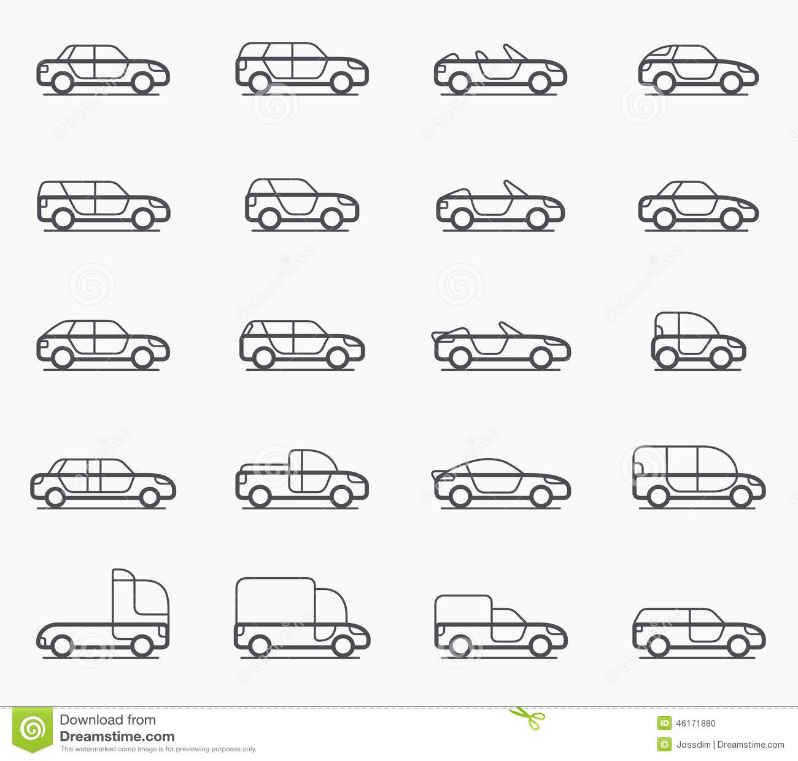 Convertible Car Off Road Jeep Suv Royalty Free