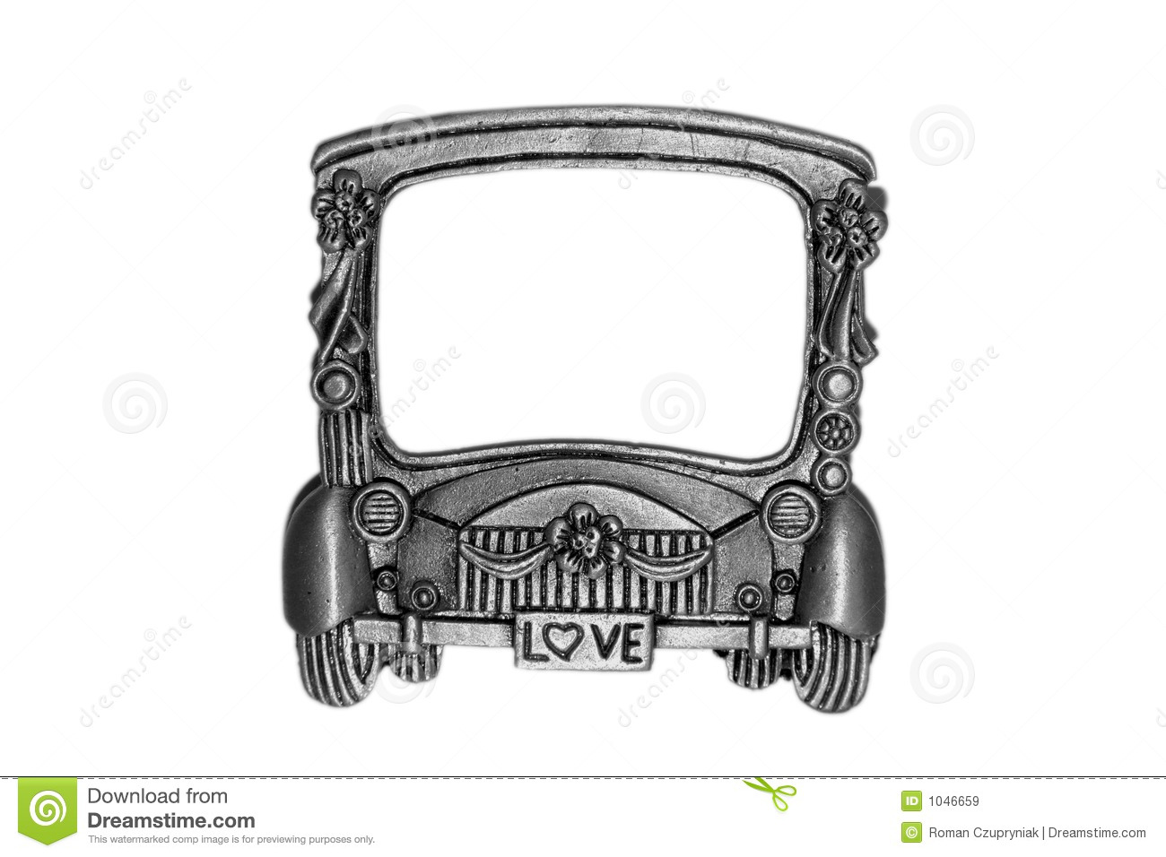 Toy Car Frame Stock Images