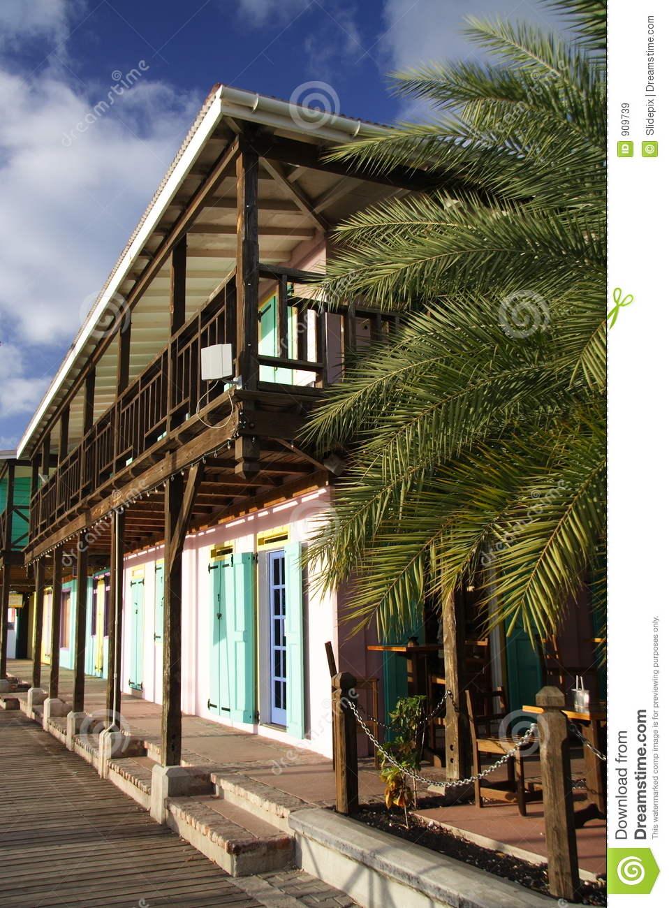 Caribbean Architecture Royalty Free Stock Images Image