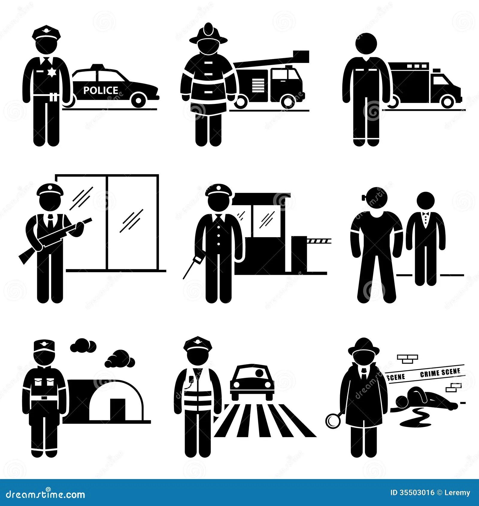 Carreira Publica Das Ocupacoes Dos Trabalhos Da Seguranca