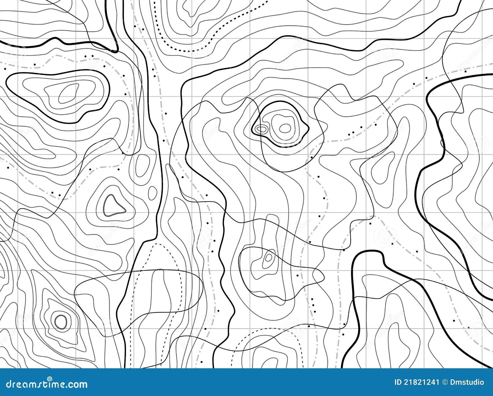 Plans Topographique Carte
