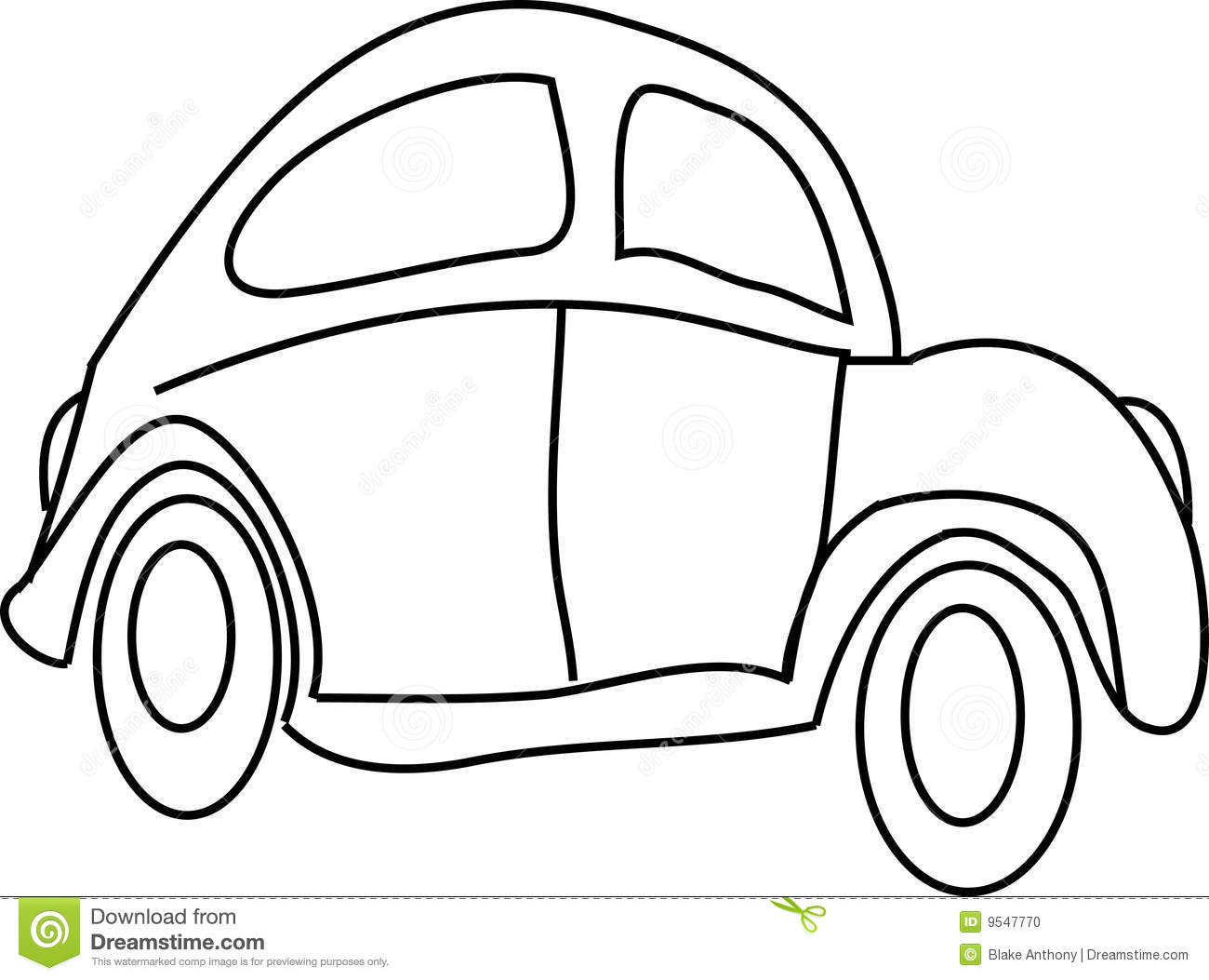 Cartoon Car Stock Vector Illustration Of Funny Front