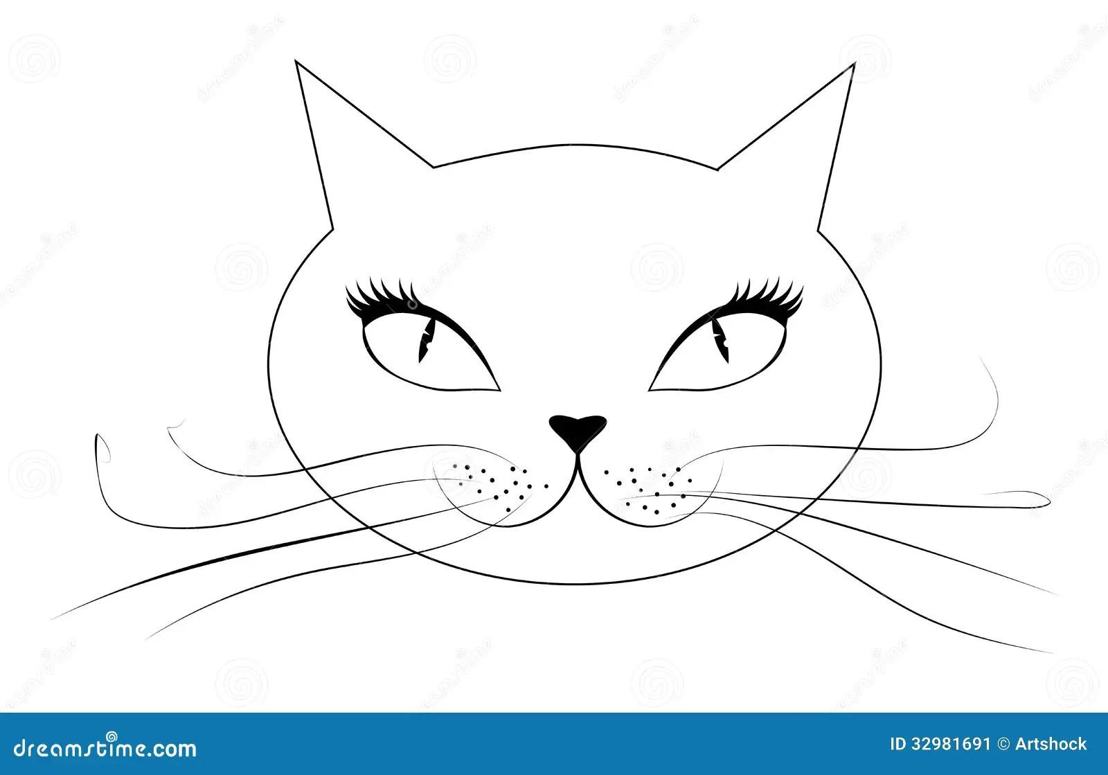 Mr No Face Cat