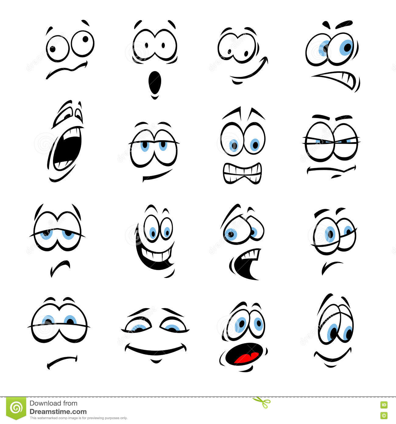 Mad Face Clipart