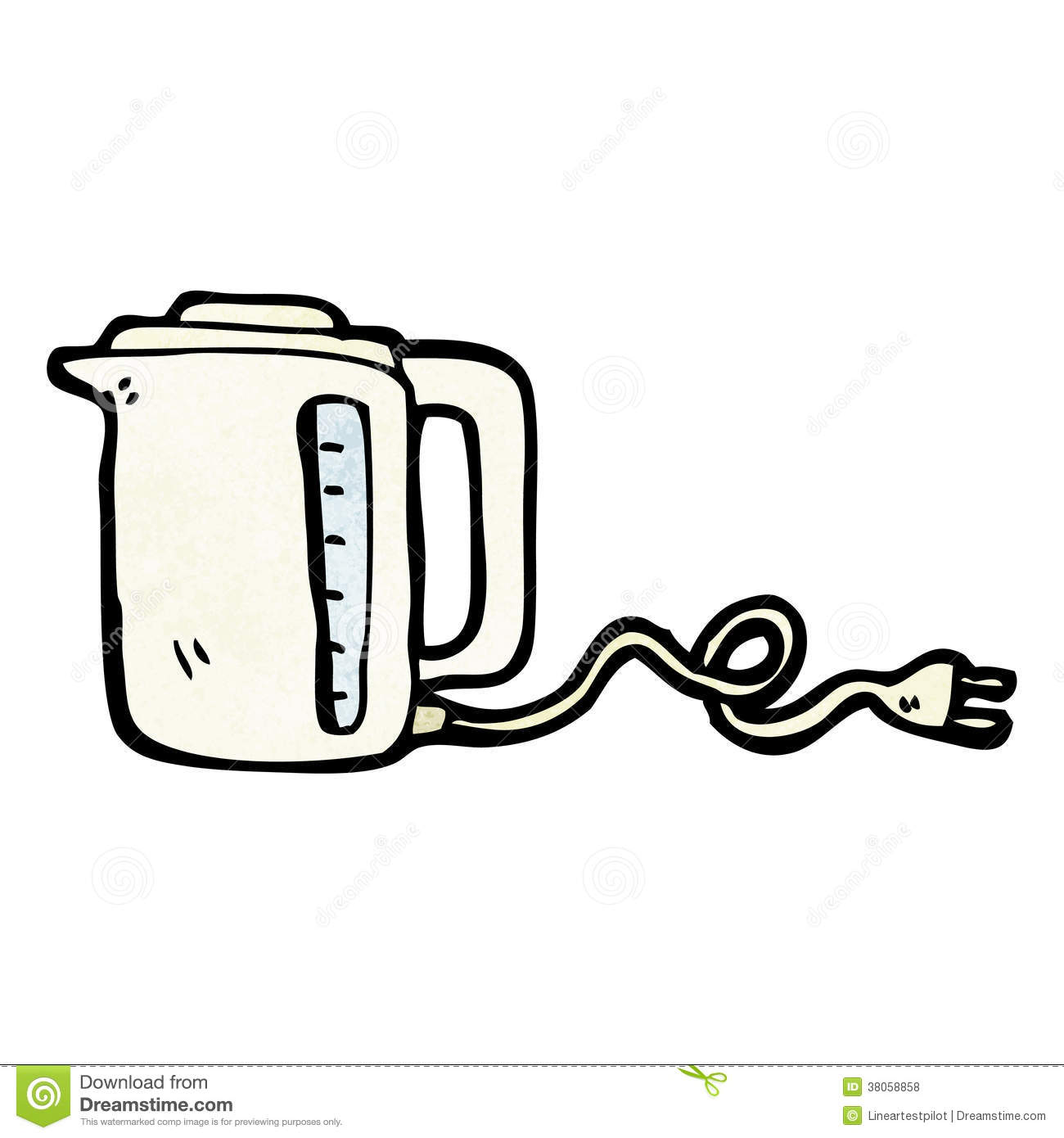 Cartoon Kettle Stock Vector Illustration Of Kettle