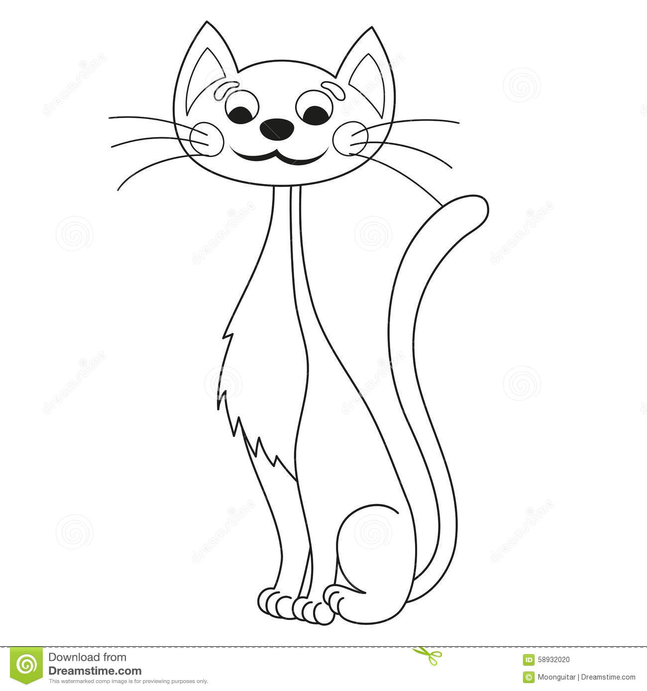 a freaky cat