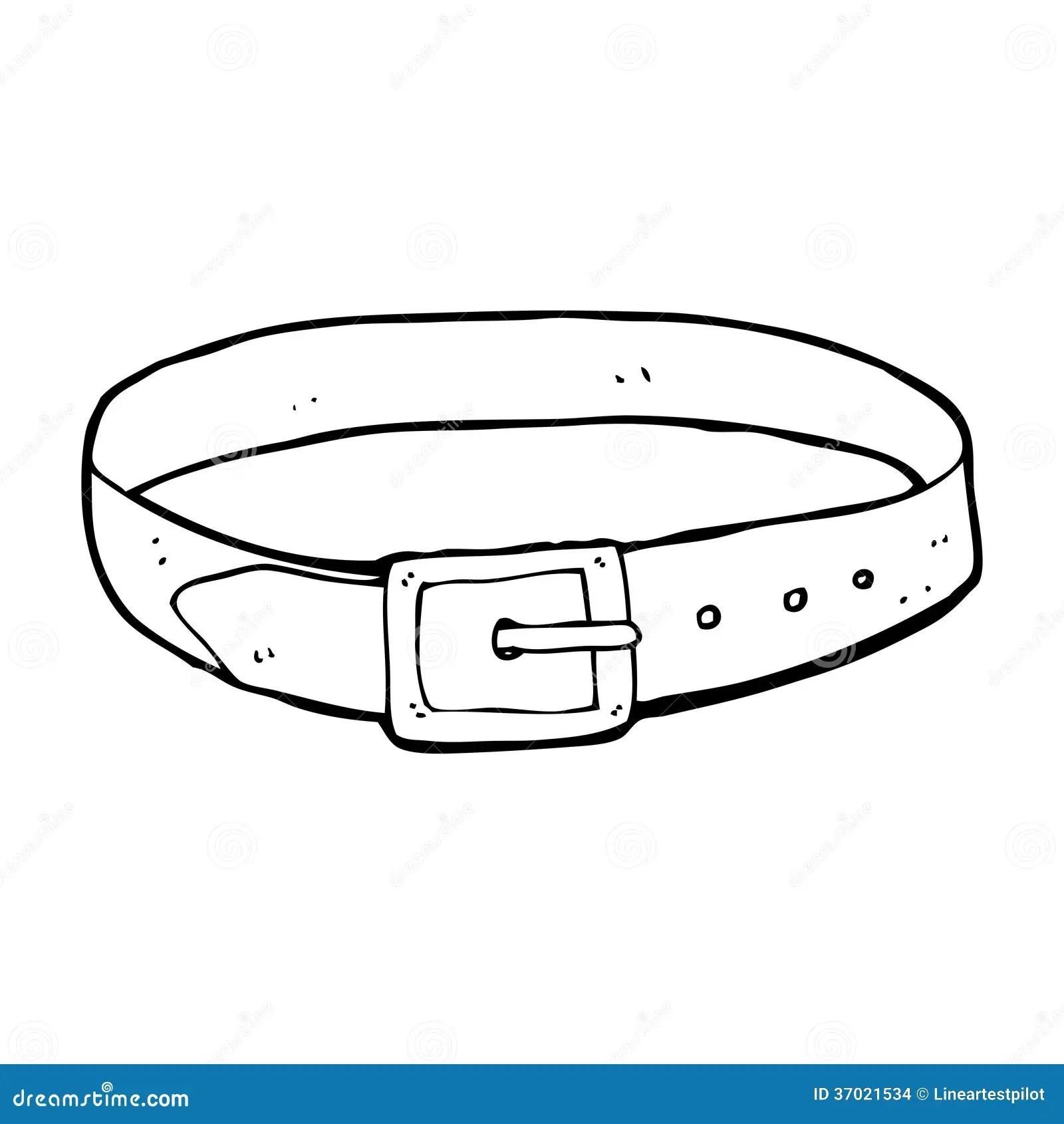 Cartoon Leather Belt Stock Images