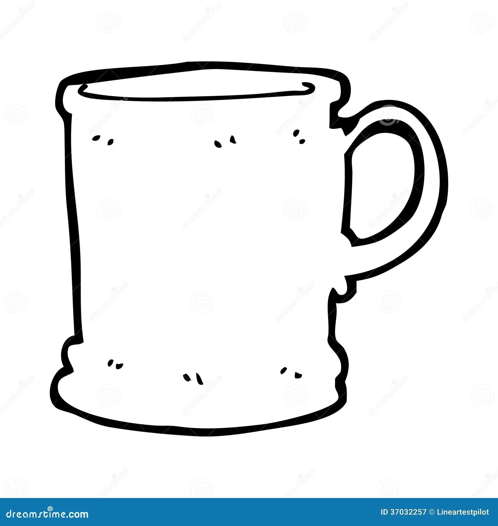 Cartoon Mug Royalty Free Stock Photography