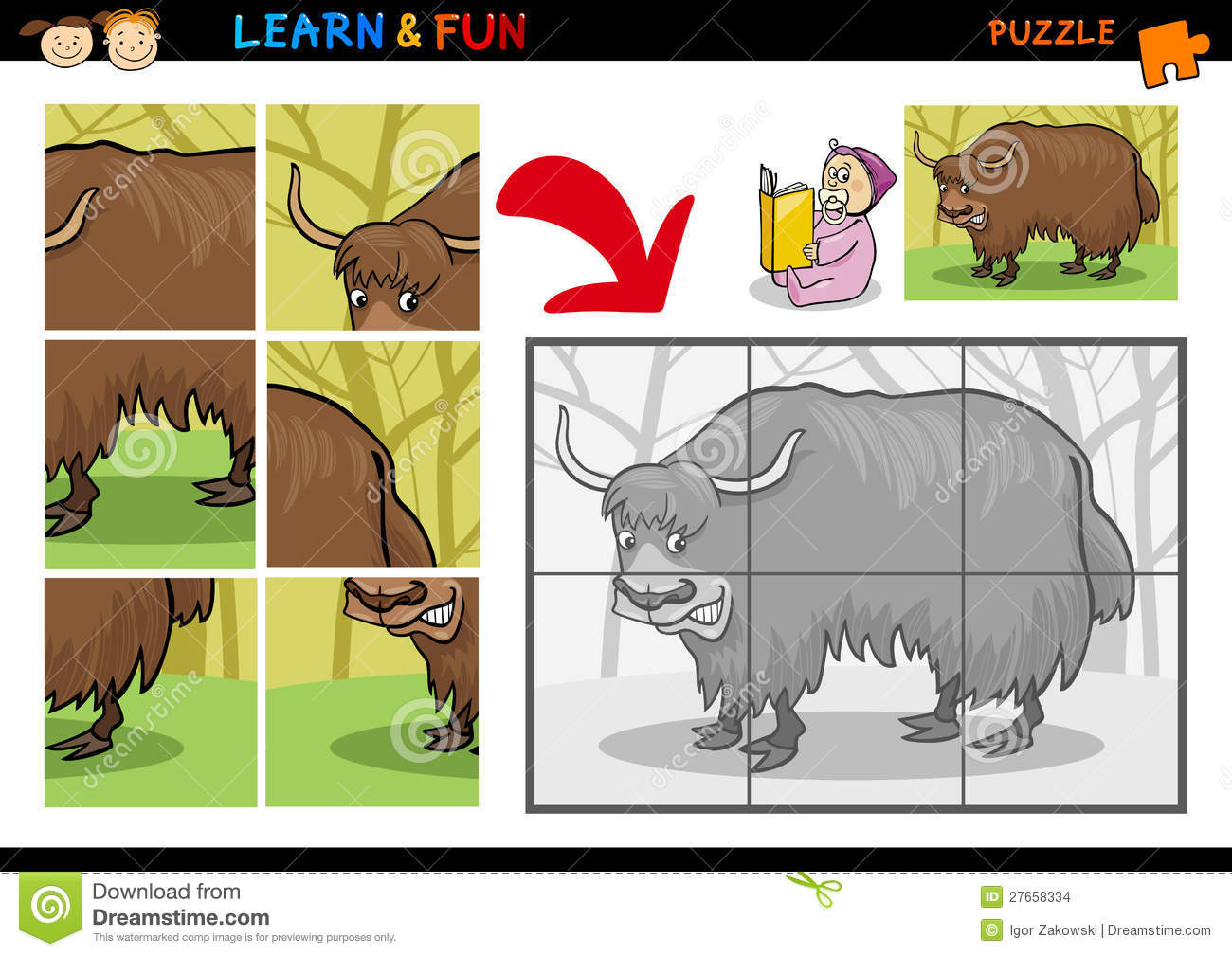 Yak Cartoons Illustrations Amp Vector Stock Images