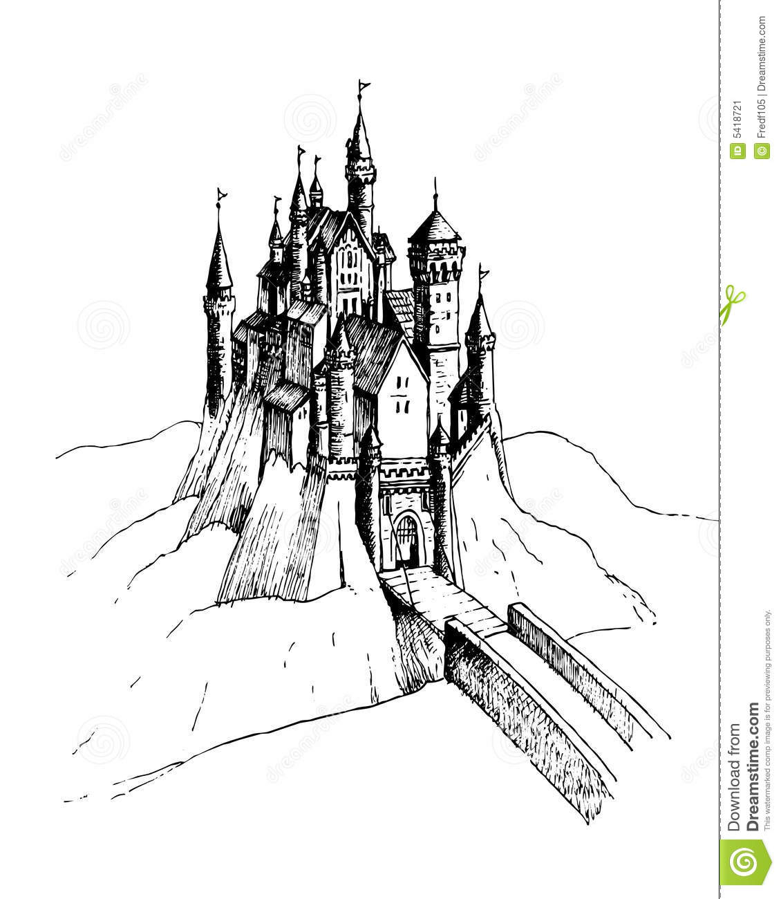 Castle Stock Illustration Illustration Of Ages Armor