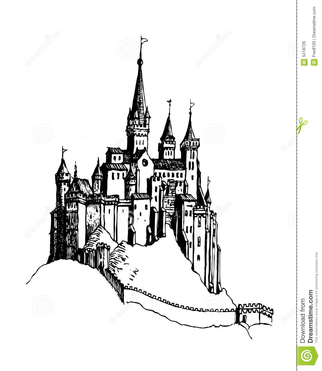 Castle Stock Illustration Illustration Of Protection