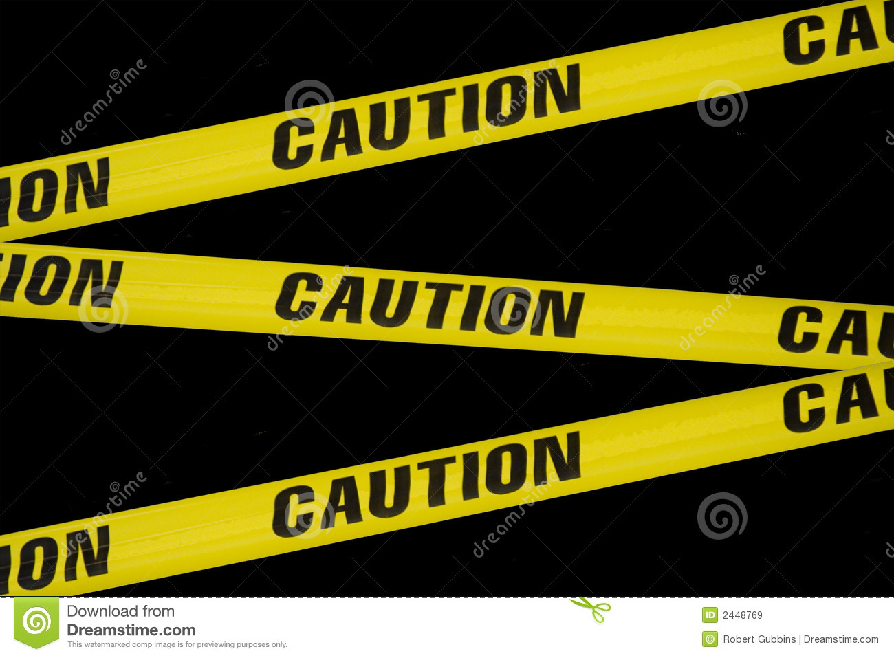 Caution Tape Stock Image Image Of Black Letters Line