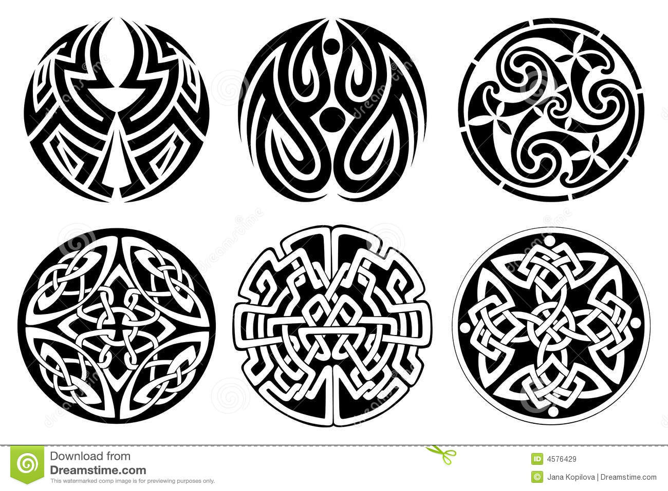 Celtic Ornament Royalty Free Stock Images