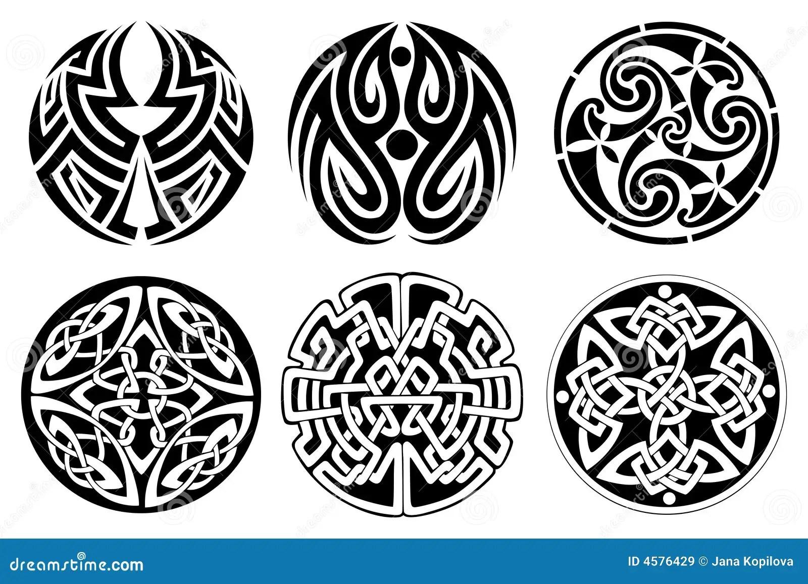 Celtic Ornament Stock Vector. Illustration Of Calligraphic