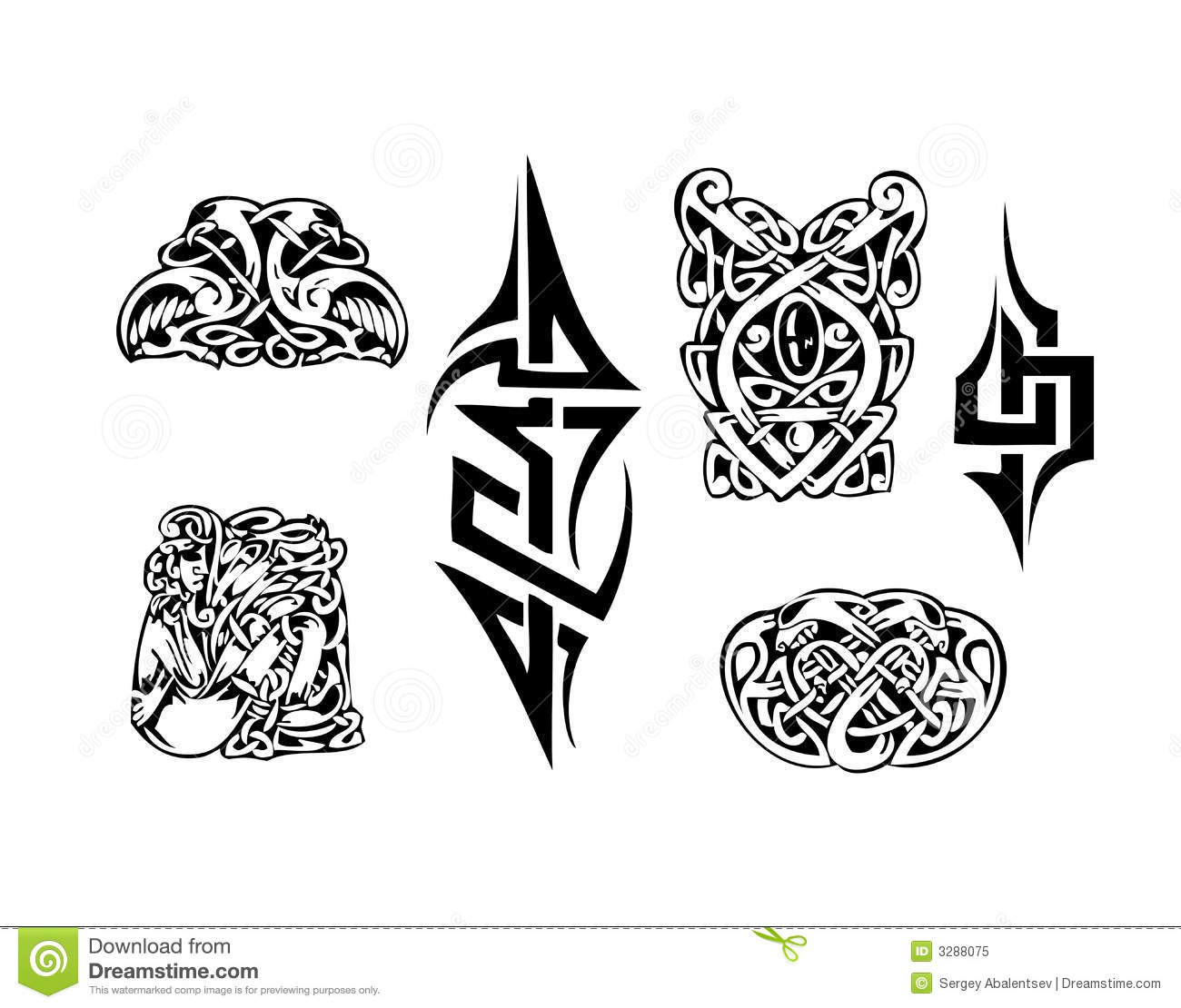 Celtic Vector Tatoo Stock Vector Image Of Arizona