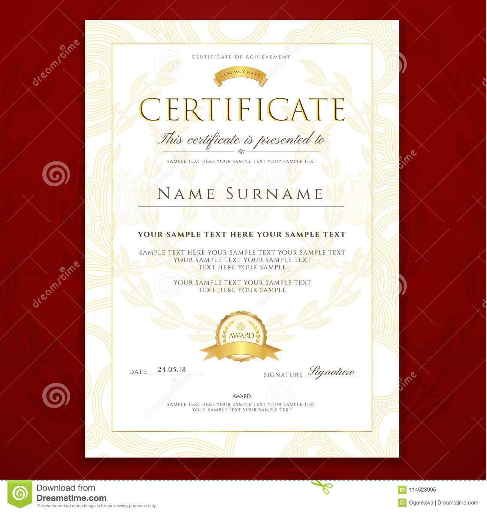 Piano Recital Program Template Word Certificate Piano Recital