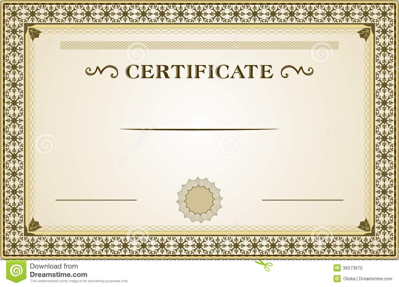 Blank Certificate Joy Studio Design Gallery