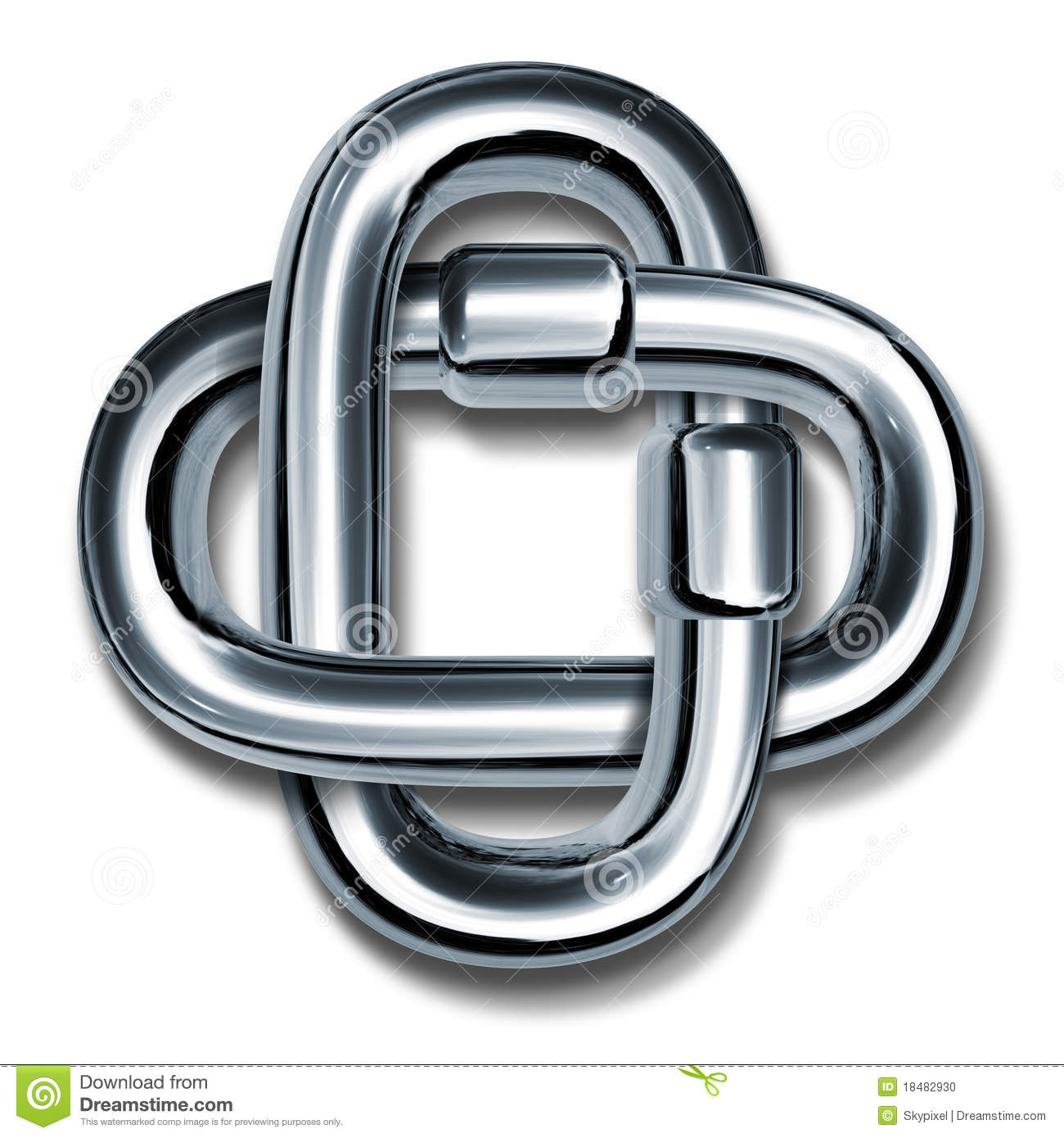Strength Word Chain Link