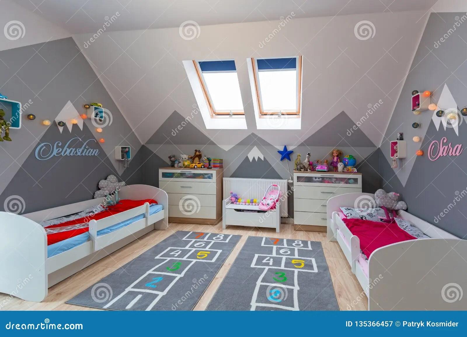 chambre a coucher moderne pour le