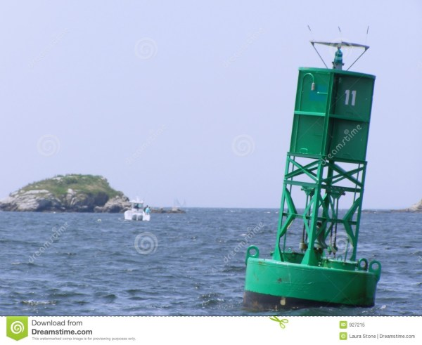 Channel Marker Buoy stock image. Image of marker, travel ...