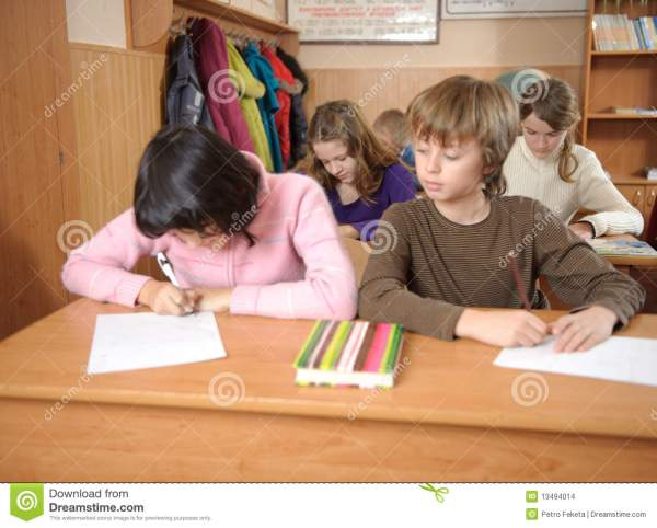 Cheating At School Stock Images - Image: 13494014