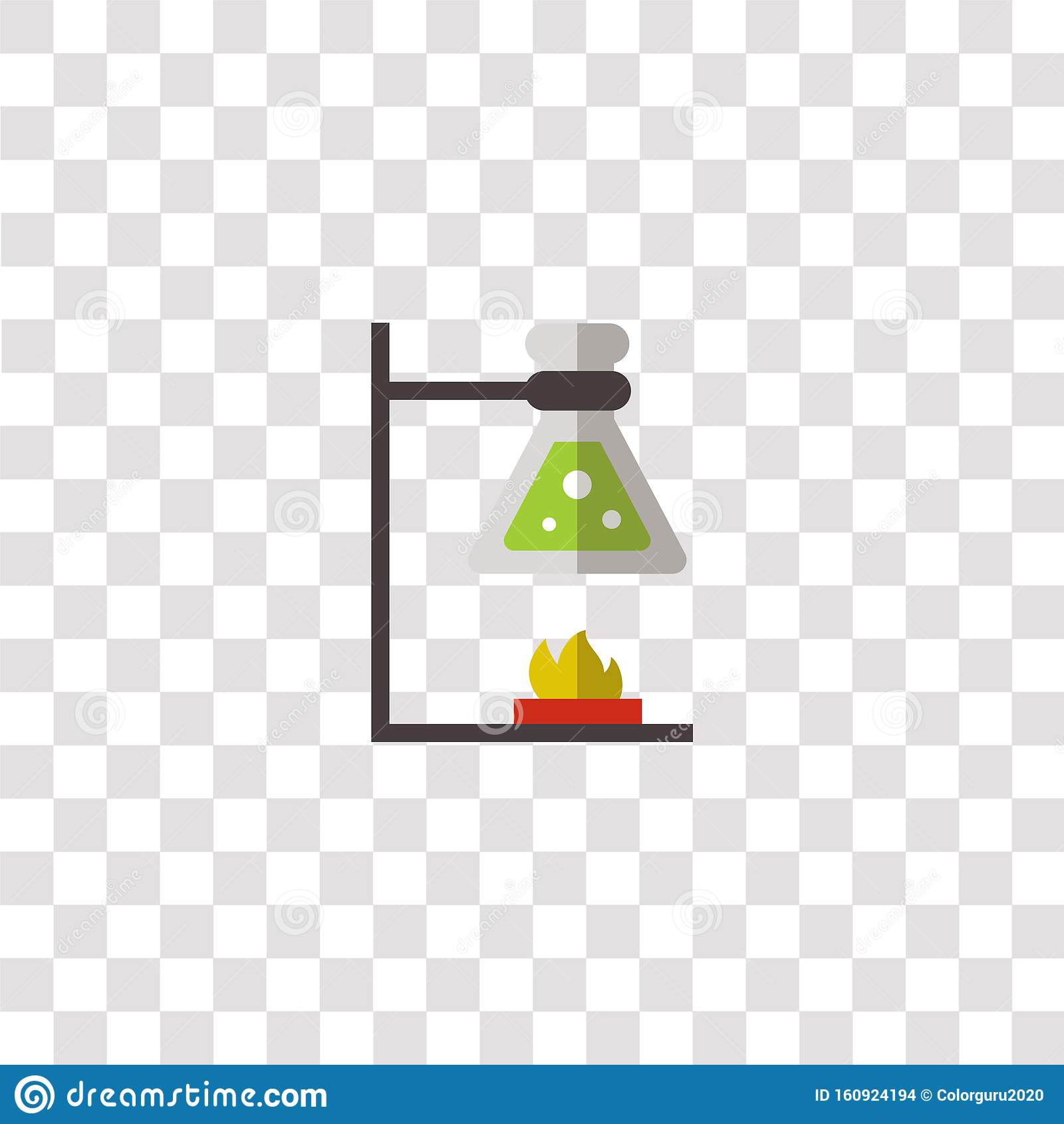 Chemistry Icon Sign And Symbol Chemistry Color Icon For