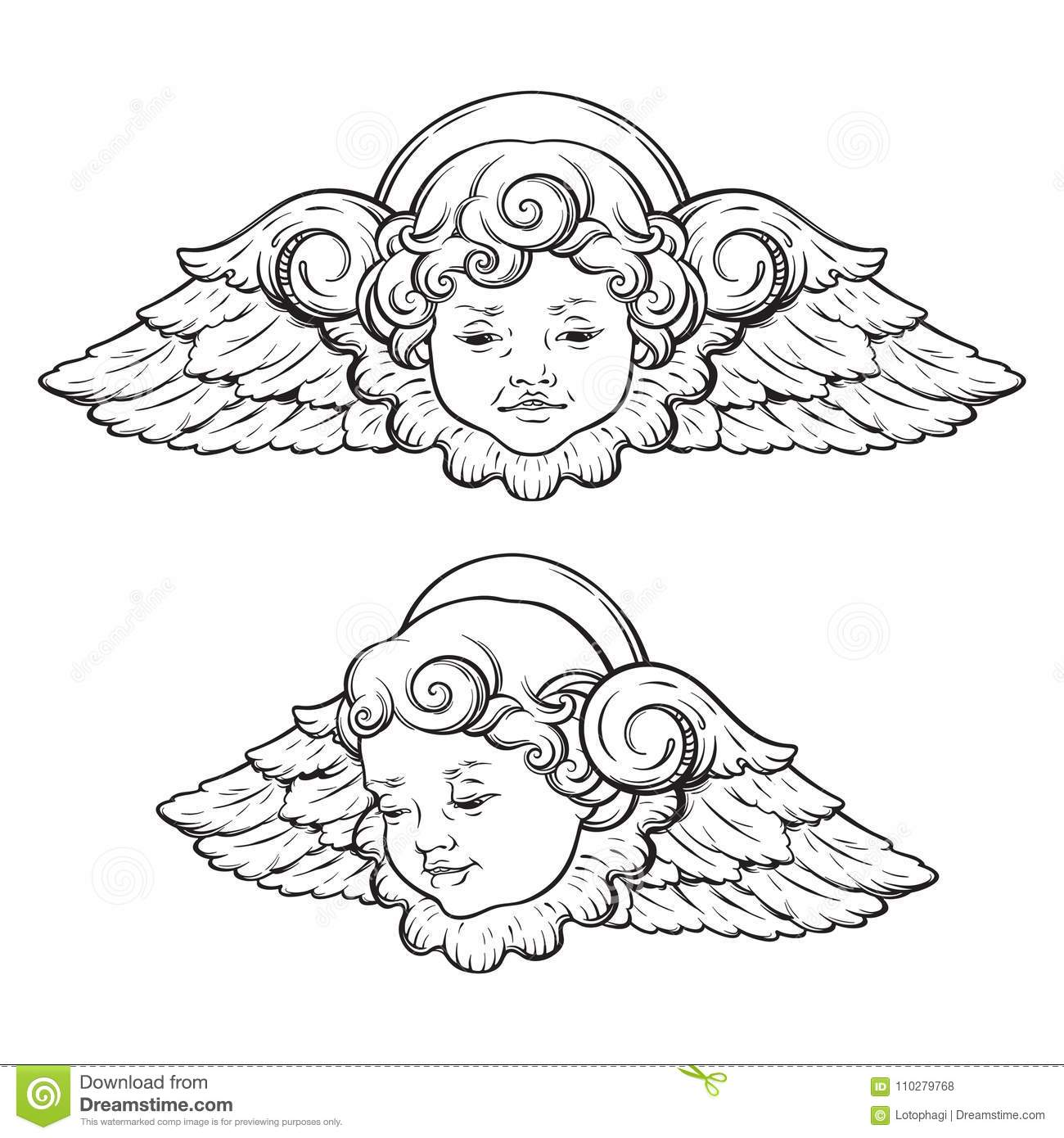 Cherub Stock Illustrations 4 861 Cherub Stock