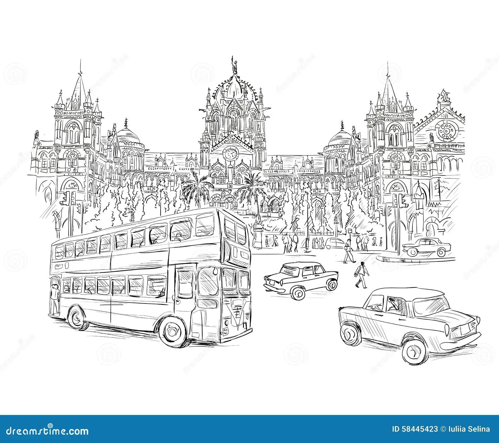 Chhatrapati Shivaji Stock Vector